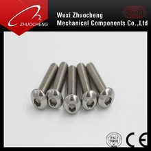 stainless steel ISO7380 Hex Socket Round Button Head Screw