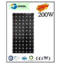 Blue/Black new designed 200Watt mono solar energy power module China manufacturing