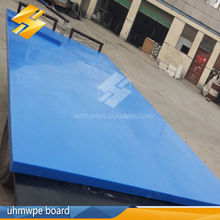 High quality plastic engineering mould pe product/eco-friendly chemical & corrosion resistant blue virgin uhmwpe sheet