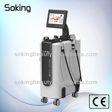 CE approved High power Fast effect vertical multipolar rf vacuum cavitation with 5 handles