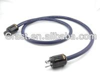 Furukawa electric super pure copper Multi Conductor US Power Cable Hifi ac power extension cord cable