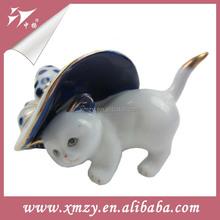 Sexy Hot Sale Antique Porcelain Cat Figurines