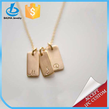 Made in yiwu gold unique jewelry, necklace designs, custom necklace