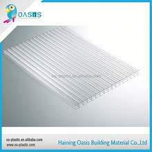 On-time delivery factory directly polycarbonate hollow sheet for orientating and greenhouse