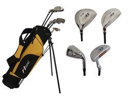 custom junior golf,added size junior golf club set,classic style