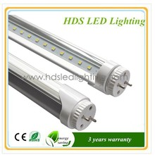 2015 milk white 3 years warranty 18w 120mm t8 smd led tube light