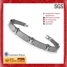 Timeless Jewelry Collection New First Class stainless steel absolute 3mm round x and o line bracelet