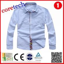 new design popular 100% cotton man shirt factory