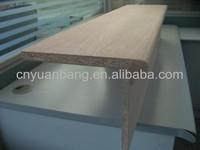 classic oak veneered chipboard stair tread / riser
