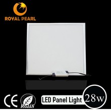 CE/ROHS/ERP 28w backlight non-glare ledpanel light 600*600