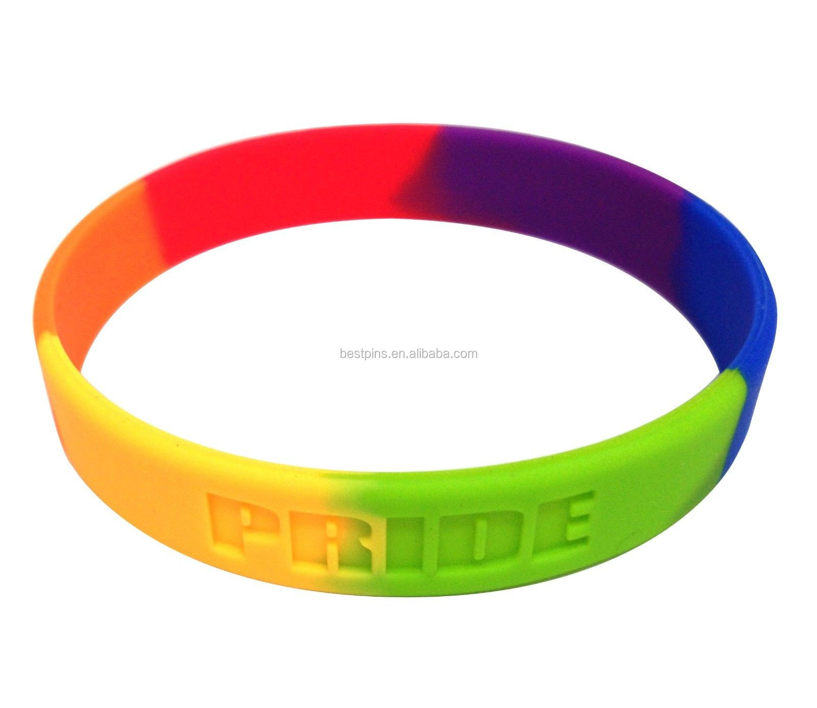 Gay,Pride,Rainbow,Colors,Wristband,Bracelets,or
