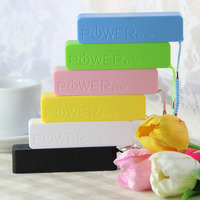 Colorful lucky baby power bank AA battery best quality power bank