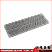 New electronic component Universal Testing board, 830 board Clear Solderless Breadboard