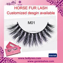 Custom Design Super Dense Horse Hair False Eyelash