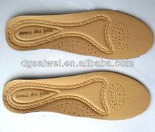 革の靴の中敷き/原料は靴作りのための