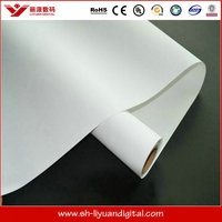 printable self adhesive pp synthetic paper / inkjet media adhesive pp synthetic paper for roll-up