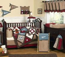 100% cotton baby crib bedding set