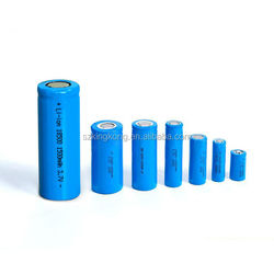 LIR18500 li-ion 3.7v 1500mah battery