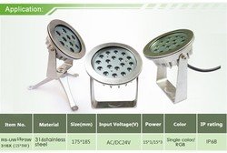 design solution international high quality high power LED underwater Lights with ip68
