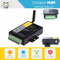 F2114 Rs232 Gsm/gprs Modem PLC connection via radio modem Power Line Carrier modem communication