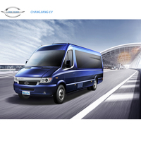 FDG Long River / Changjiang Branded Electric MPV / Mini Commercial Vehicle Passenger Van Powered by LifePO4 Lithium ion Battery