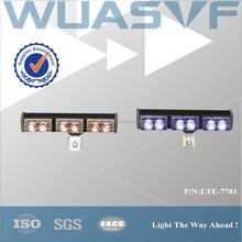 LED strobe car warning light, red blue led dash light