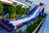 2015 Hot-selling Inflatable Long Water Slide/Inflatable Hippo Slide