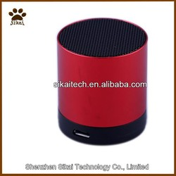Small speakers through hands-free subwoofer