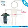 Hot!!!fashion silicone cell phone stand,mobile phone stand for promotional gift