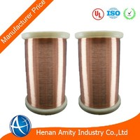 High Quality 0.09mm Thermal Class 220 Enameled Copper Wire With Manufacturer Price