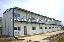 prefabricate steel sandwich panel house