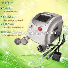 Power 5 Handle Treatment!Cavitation Photon Microcurrent RF Deep Wrinkle Removal Machine