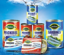 Canned fishes canned seafood