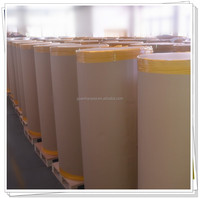 anti-scratch and water proof thermal adhesive paper roll for custom printing label and industrial barcode labels