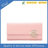 2015 leather women wallet ,Exceptional quality leather ladies purse,direct purses china