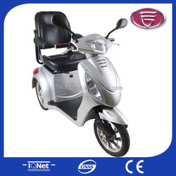 2015 elderly mobility scooter 3 wheeler/electric scooter for elderly/one wheel electric scooter for elderly