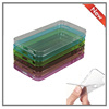 colorful clear TPU mobile phone protective cases for iphone 5s