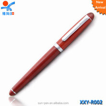 High qulity factory supply rosewood gifts promotion fountain pen