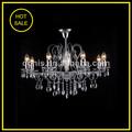Cristales de vidrio para lámparas de araña con 8 luces