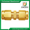 made in china best sale competitive price 1/4'' 1/2'' npt customized forged threaded brass ferrule fitting