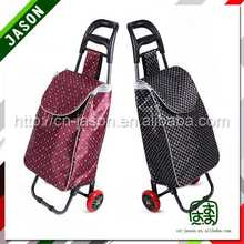 shopping cart with chair fashional printed shopping bags