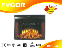 decor flame wall mounted electric heater fireplace JK-MG01N