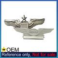 Venta al por mayor de encargo ee.uu. estados unidos la fuerza aérea piloto de Metal alas Pins
