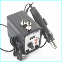 Free shipping 220V 700W ToolGuide 858D Constant temperature Antistatic Soldering Station Solder Iron+Heat Element+Tweezer