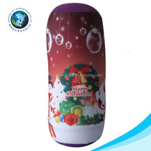 Colorful Chevron Digital Printing High Quality Viscoelastic Memory Foam Filling Plush Cylindrical Pillow