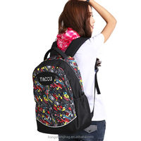trendy outdoor large capacity laptop backpack rain cover TBP501