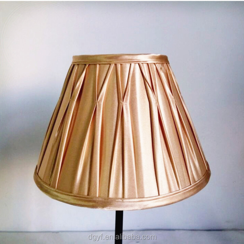 Pleated fabric lamp shade home decorating lampshade cone shaped light covers buy pleated Home decorators lamp shades