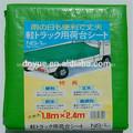 de alta densidad resistente al sol de lona para camiones y el uso de varios