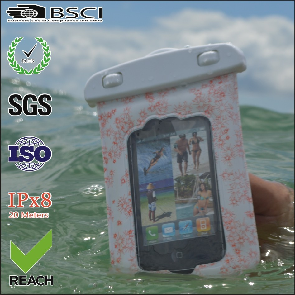 2015 cheap waterproof backpack for mobile phone