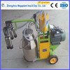 single cow portable milking machine for human operation